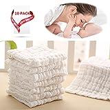Baby weiße Wäsche Tücher-natürliche Bio-Baumwolle Baby-Feuchttücher - weiche neugeborenes Baby