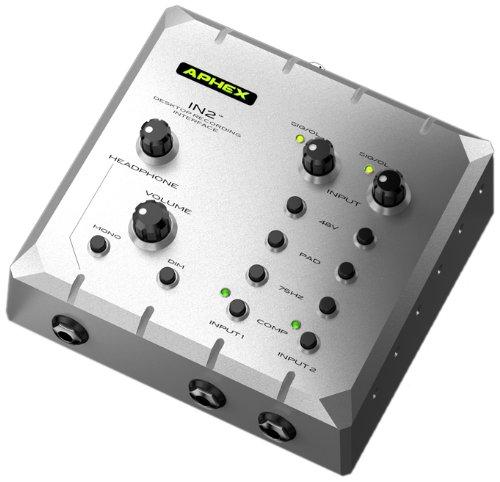 IN2 APHEX INTERFAZ DE AUDIO DE ESCRITORIO 309733 SERIE USB