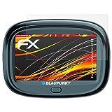 atFoliX Folie für Blaupunkt MotoPilot 43 EU Displayschutzfolie - 3 x FX-Antireflex-HD hochauflösende entspiegelnde Schutzfolie