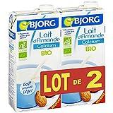 Bjorg - Boisson Amande Calcium 2x1l - (Prix Par Unité ) - Produit Bio Agrée Par AB