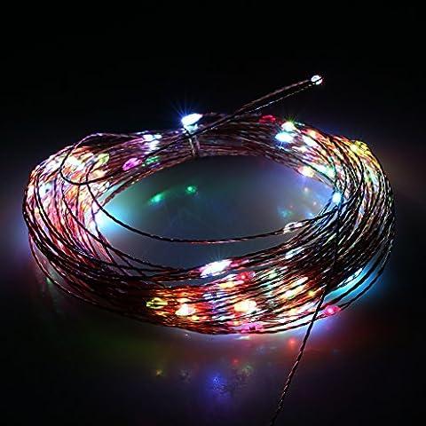 Excelvan 15 Mètre 150 LED Guirlande Lumineuse à LED Intérieur