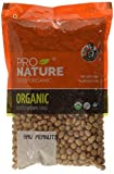 #7: Pro Nature 100% Organic Raw Peanuts, 500g