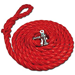AUTONIK 122030 Tow Rope with Shackle Up To 3,000 kg, 4 m