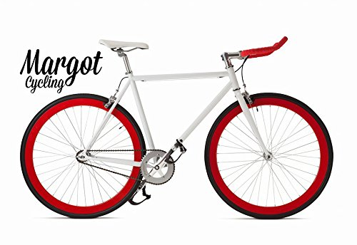 Margot Bullhorn 54 - Bici Scatto Fisso, Fixed Bike, Bici Single Speed, Bici Fixie