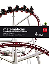 Matemáticas orientadas a las enseñanzas académicas. 4 ESO. Savia. Trimestres