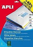 APLI 13882 - Etiquetas blancas imprimibles