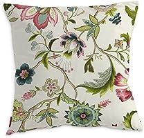 FRANC-textile 100-122-00 Kinga Londres housse de coussin-naturel - 43 x 43 cm-ecru