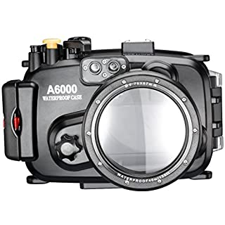 Neewer® 40m 130ft Wasser PC Gehäusekamera Unterwassergehäuse für Sony A6000 mit 16-50mm Objektiv (B00NWBLFP8) | Amazon price tracker / tracking, Amazon price history charts, Amazon price watches, Amazon price drop alerts