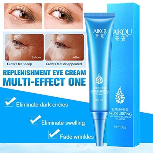 Gaddrt Crème pour les yeux gel pour les cercles sombres poches rides sacs les plus efficaces anti-vieillissement