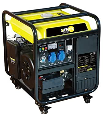 Groupe électrogène de chantier INVERTER 8000w moteur 4 temps