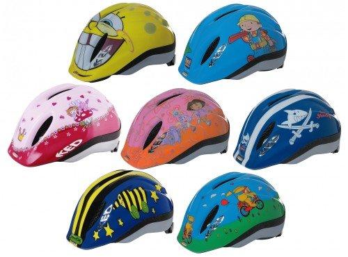 Kinder-Fahrradhelm KED Meggy Lizenz , Größe:M; Dekor:Sponge Bob
