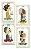 Tutti Confetti–Deck Kinderzimmer, Familien aus 7Ländern (Spielkarten Heraclio Fournier 1034797)