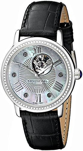 Raymond Weil Damas Maestro Tradition Ladies Analog Empresa Cuarzo: Batería Swiss Reloj 2627-sls-00965