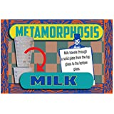 Metamorphosis Milk - 28 Oz - Milk Travels Through A Solid Plate From The Top Glass To The Bottom Glass!