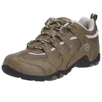 Hi-Tec Women's Quadra Life Walking Shoe Olive/Light Grey 18601-KZ2 4 UK