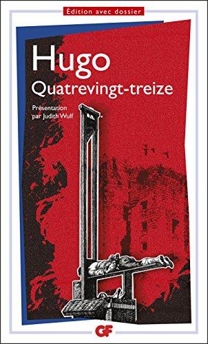 Quatrevingt-treize (GF t. 1160) par Victor Hugo