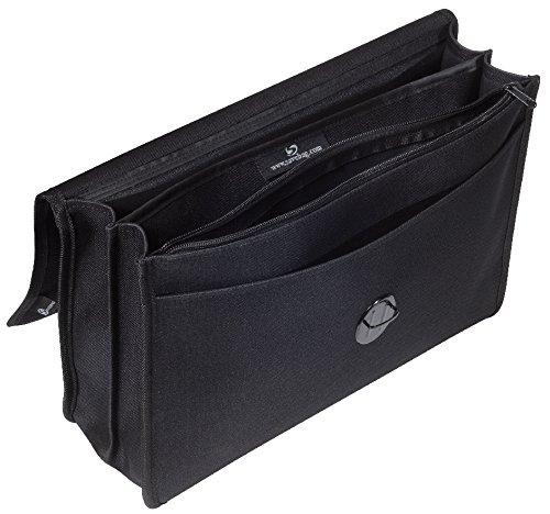 Savebag-Handtuch, Beraterin 38 Cm SCHWARZ