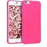 kwmobile Apple iPhone 6 Plus / 6S Plus Cover - Custodia per Apple iPhone 6 Plus / 6S Plus in Silicone TPU - Backcover Protezione Rosa Shocking