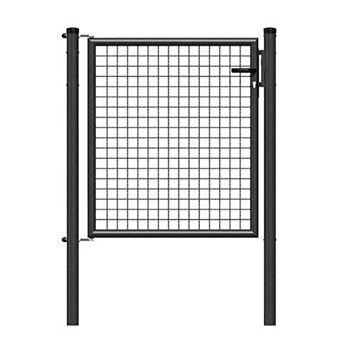GAH-Alberts Wellengitter-Einzeltor Höhe 150 cm x Breite 100 cm  anthrazit-metallic