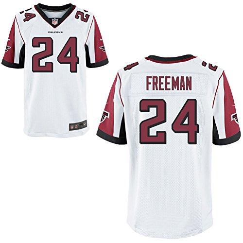 24 Devonta Freeman Trikot Atlanta Falcons Jersey American Football Shirt Mens Elite White Size M(40)