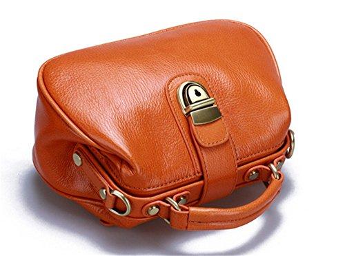 Sacs à main Sacs à main pour femme Xinmaoyuan Forfait Médecin Petit Sac en cuir sac à main simple couche tête épaule Sac Messenger Brown