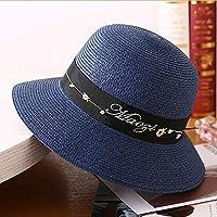 Cappello da Sole da Donna Cappello - Cappello di Paglia Donna Estate  Visiera Parasole Cappello da 3a193b91b78f