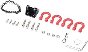 Dilwe Rc Crawler Abschlepphaken Metall Rc Abschlepphaken Schnalle Abschleppkette 1 10 Anhänger Haken Für Scx10 Auto Fernbedienung Upgrade Spielzeug