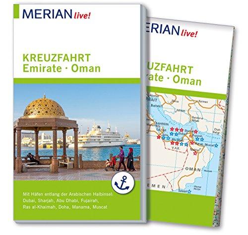 MERIAN live! Reiseführer Kreuzfahrt Emirate Oman: Mit Extra-Karte zum Herausnehmen - Bahrain Karte Von