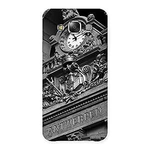 Neo World Premium Ancient Clock Back Case Cover for Galaxy E7