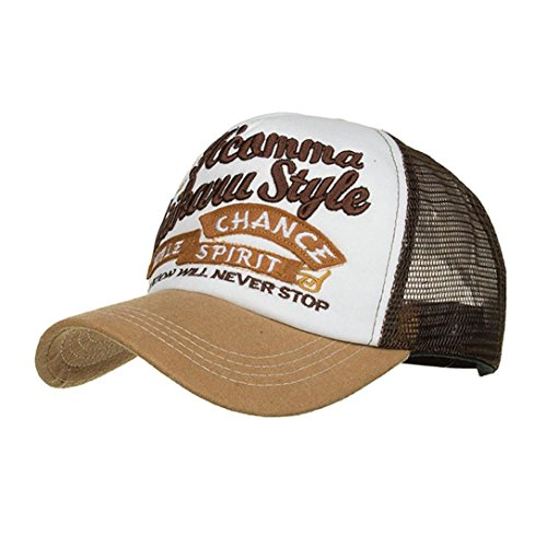 Gorra De BéIsbol ZARLLE Apliques Bordados NúMero Baseball Cap Ajustable  Hats Hip-Hop Tejido De 1872c09a8ef