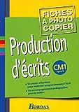 Production d'écrits, cycle 3 - CM1 (Fiches)
