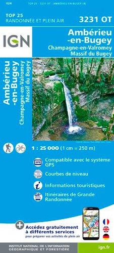 Ambérieu-en-Bugey / Champagne-en-Valromey par Institut Géographique National