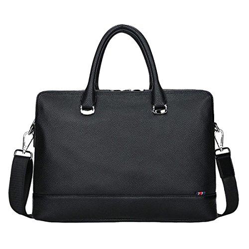 Mode Affaires De Loisirs En Plein Air Sac En Cuir Sacoche En Cuir Pour Ordinateur Sac à Main Messenger Bag