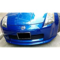 Para Nissan 350Z Z33 (Early) estilo fibra de carbono frontal parachoques labios labio inferior