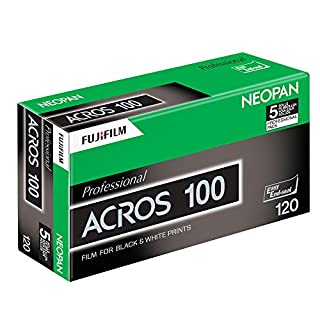 Black & White Film ISO Fujifilm Acros 100120–5Rolls