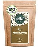CUMINO IN POLVERE (Bio, 250g) // Cumino polvere in alta qualità - Qualità biologica 100% - Confezionato e controllato in Germania (DE-ÖKO-005)