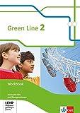 Green Line 2: Workbook mit Audio-CDs und Übungssoftware Klasse 6 (Green Line. Bundesausgabe ab 2014)