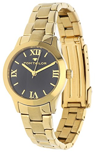 Tom Tailor Damen Armbanduhr Gold EB-5416201