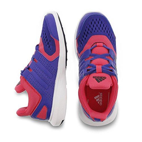 adidas Mädchen Hyperfast 2.0 K Laufschuhe blau/pink