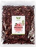 NaturaForte 1000g Hibiskus-Blüten 1a Premiumqualität