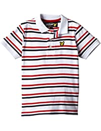 Lyle & Scott Multi Stripe-Polo Niños,