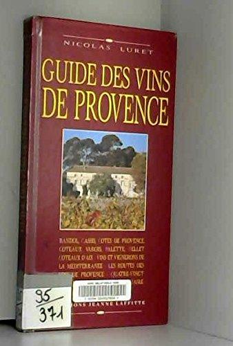 Guide des vins de Provence.