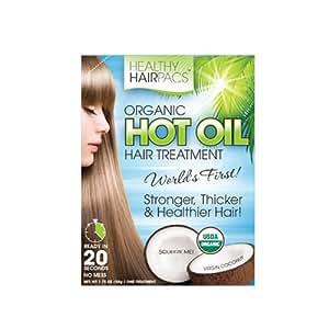 St. Tropica Inc - Organic Hot Oil Treatment - Virgin Coconut, 1.75 fl oz oil by St. Tropica