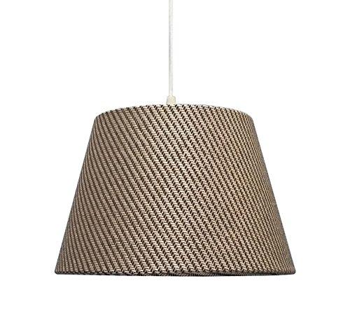 kliving-305-cm-gris-tissu-texture-de-plafond-lampe-de-table-abat-jour-tambour