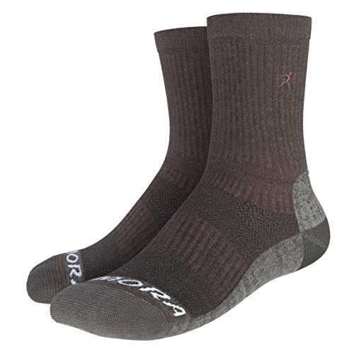 Rymora Merino Wool Hiking Socks (Premium Quality Merino Wool, Seamless Toe Construction, Ventilation Mesh, Supportive Arch Band, Ankle Protection)