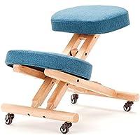 Bezug für ergonomischen Kniestuhl, blau