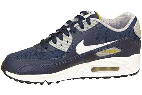 NIKE Air Max 90 (GS) Schuhe Kinder Sneaker Turnschuhe Blau 307793 417 Blau