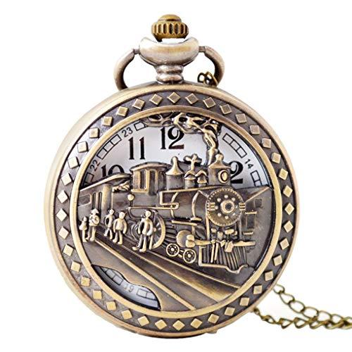 LEVEL GREAT Huecos tallados de época Fuera el Reloj de Bolsillo Negocio de la aleación Cadena de Acoplamiento...