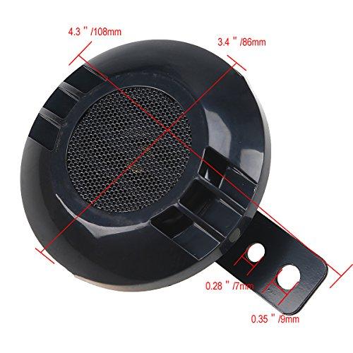 possbay 12v wasserdicht abdeckung laut horn hupe 110db mit. Black Bedroom Furniture Sets. Home Design Ideas