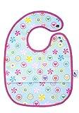 Mon Petit Bleu 5901323929717 Abwaschbares und wasserdichtes Lätzchen mit Auffangtasche - Stay Clean&Cool Bib - 28 x 22 cm - Lollis